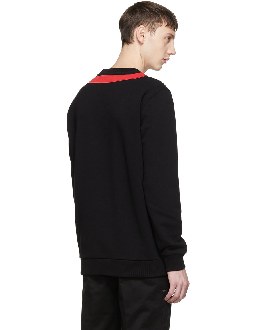 GIVENCHY Black Stars & Stripes Sweatshirt