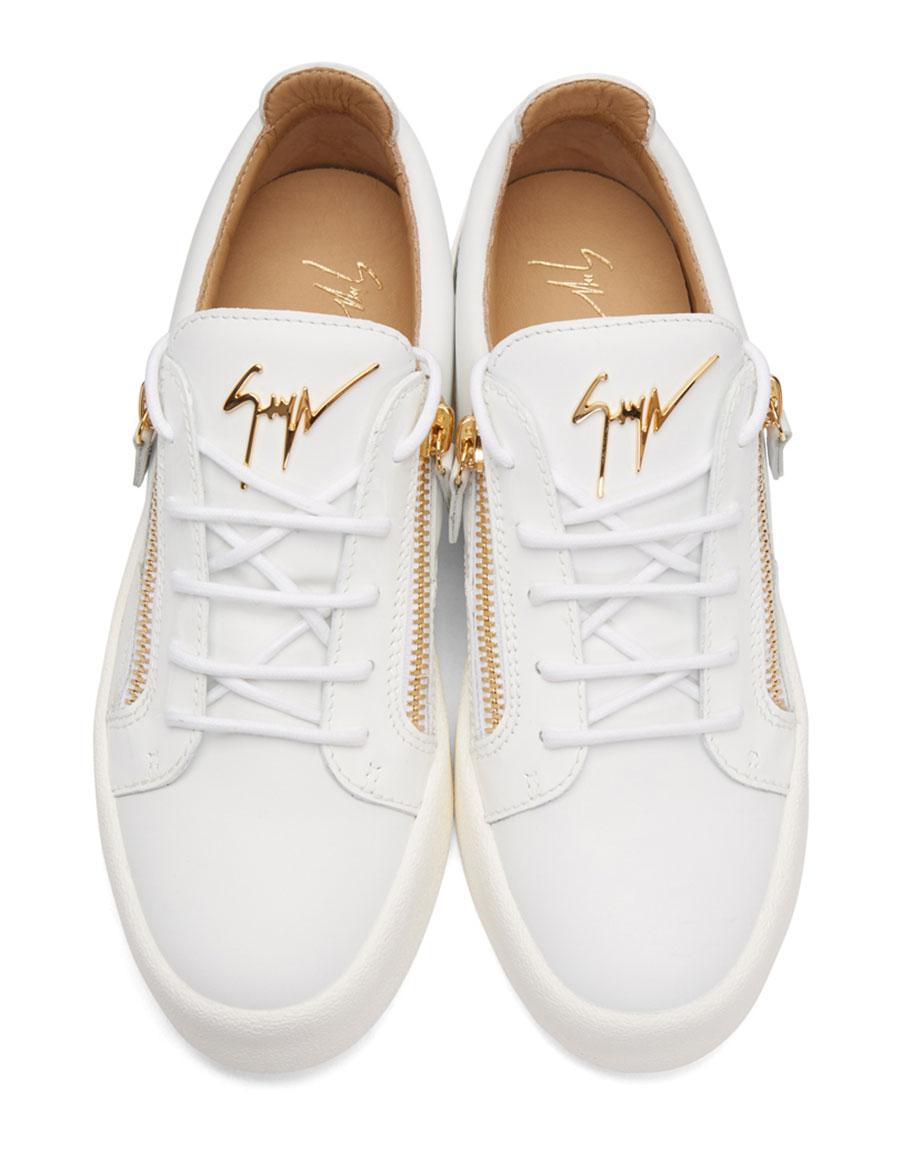 GIUSEPPE ZANOTTI White May London Sneakers