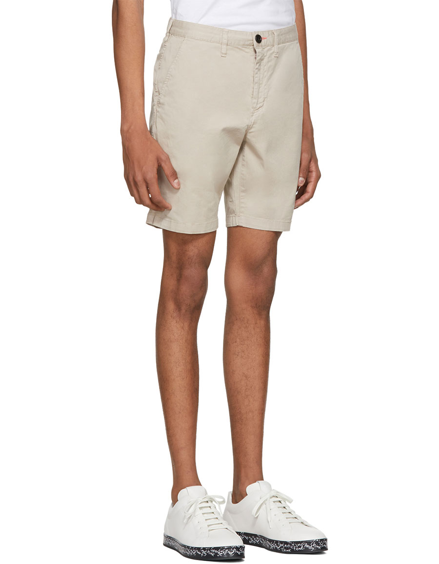 PAUL SMITH Beige Standard Fit Shorts