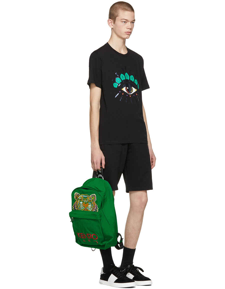c820622a KENZO Black Limited Edition Holiday Eye T-Shirt · VERGLE