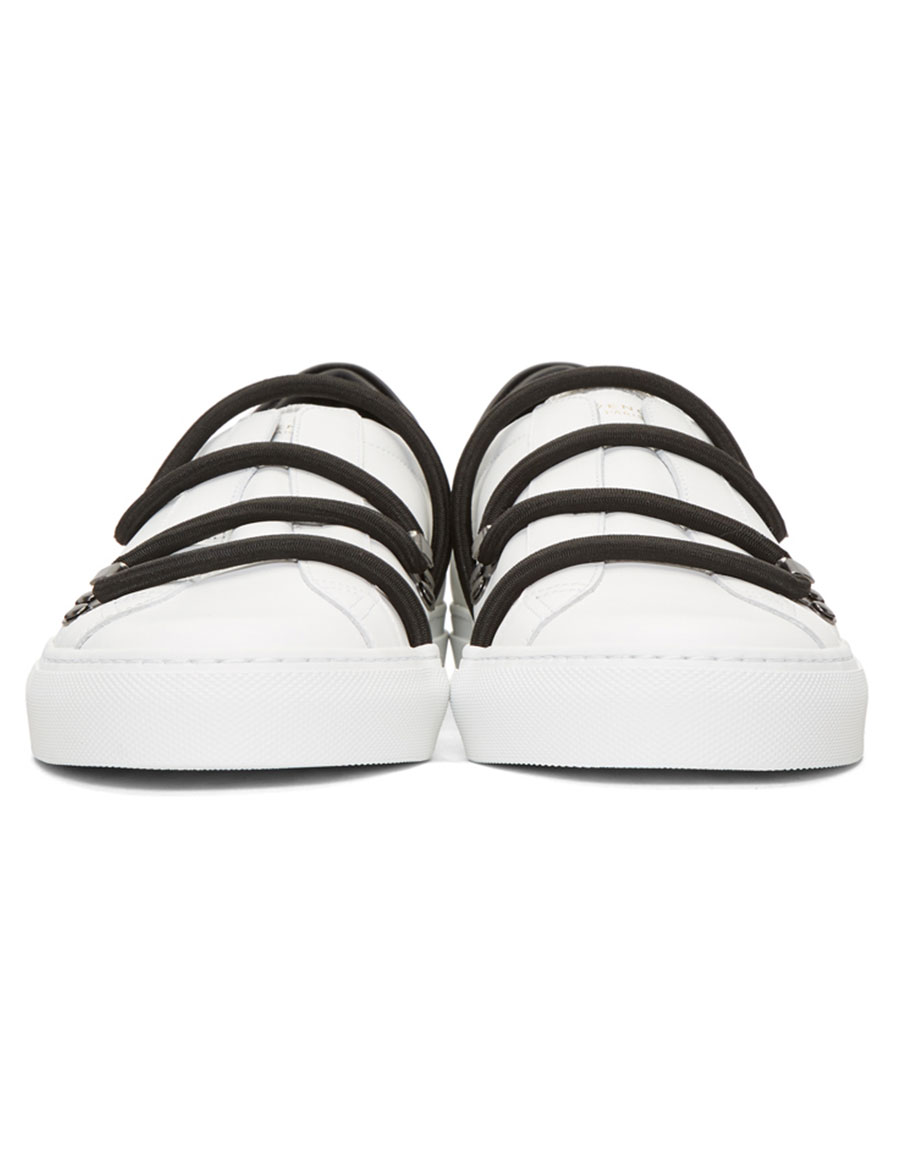 GIVENCHY White Urban Street Hike Sneakers
