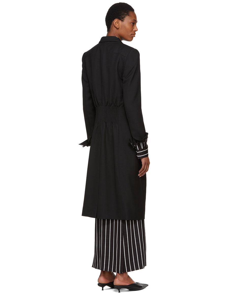 HAIDER ACKERMANN Black Calder Coat