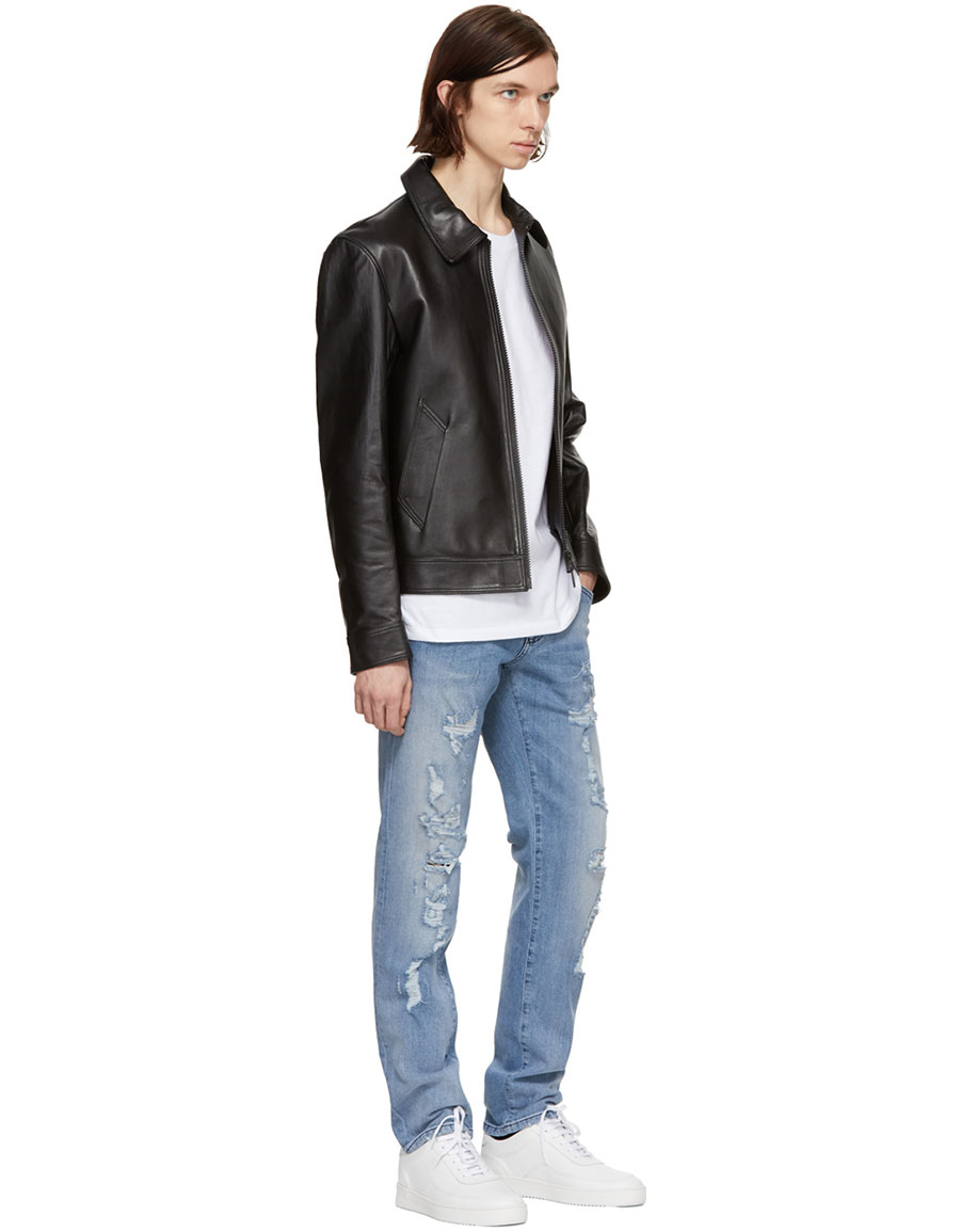 DOLCE & GABBANA Blue Classic Distressed Jeans