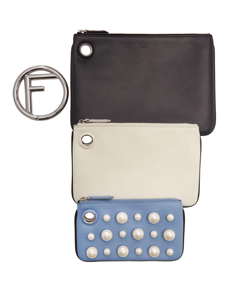 FENDI Multicolor 'F is Fendi' Multi Ring Clutch Set