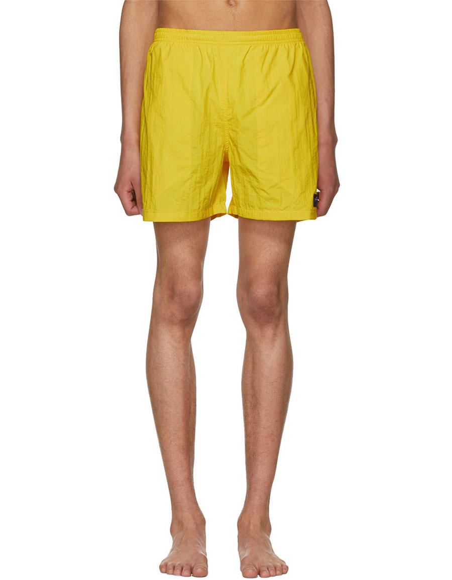 NOAH NYC Yellow Swim Shorts