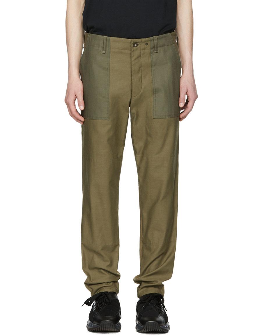 RAG & BONE Green Field Trousers