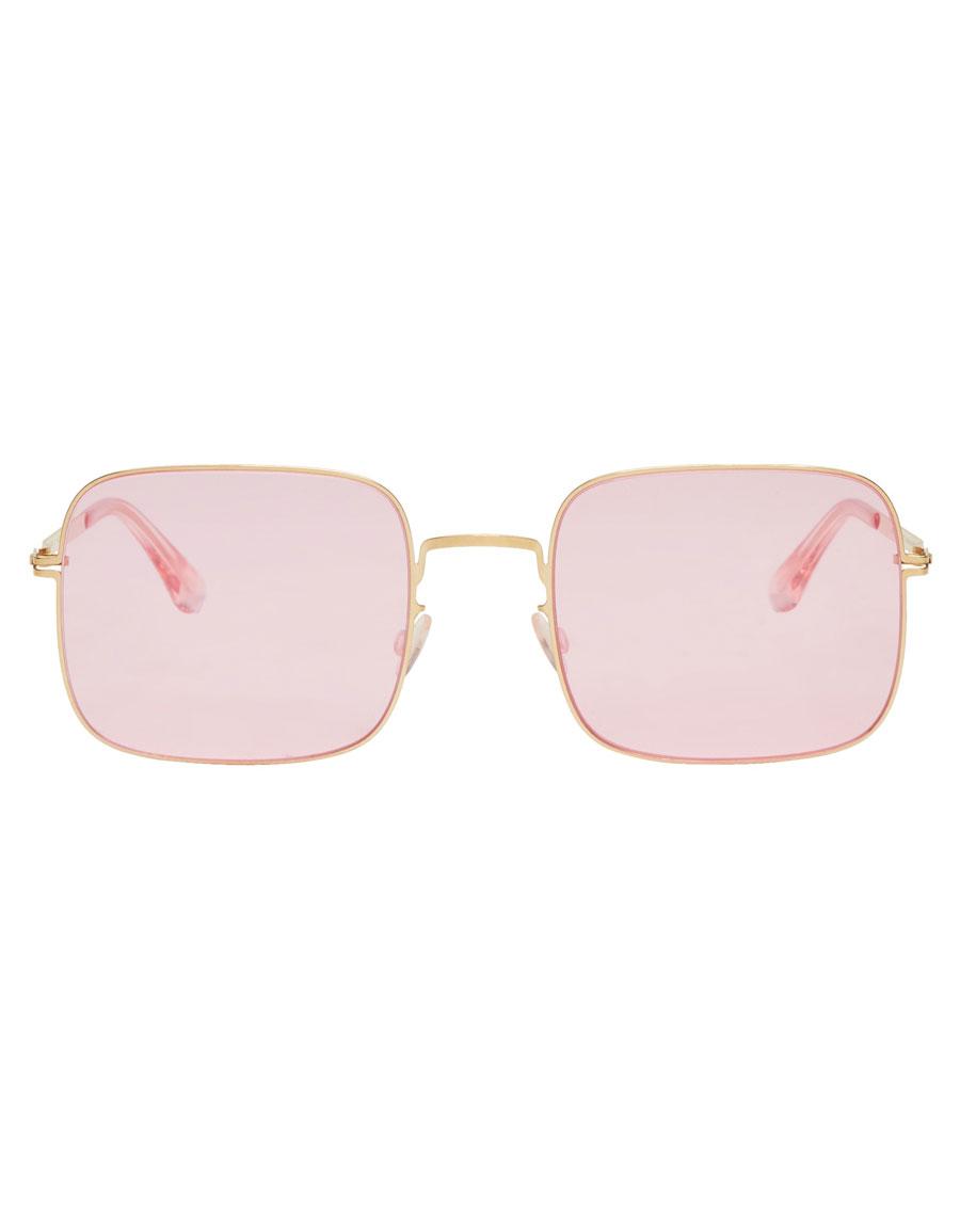 MYKITA Gold & Pink Studio 7.1 Sunglasses