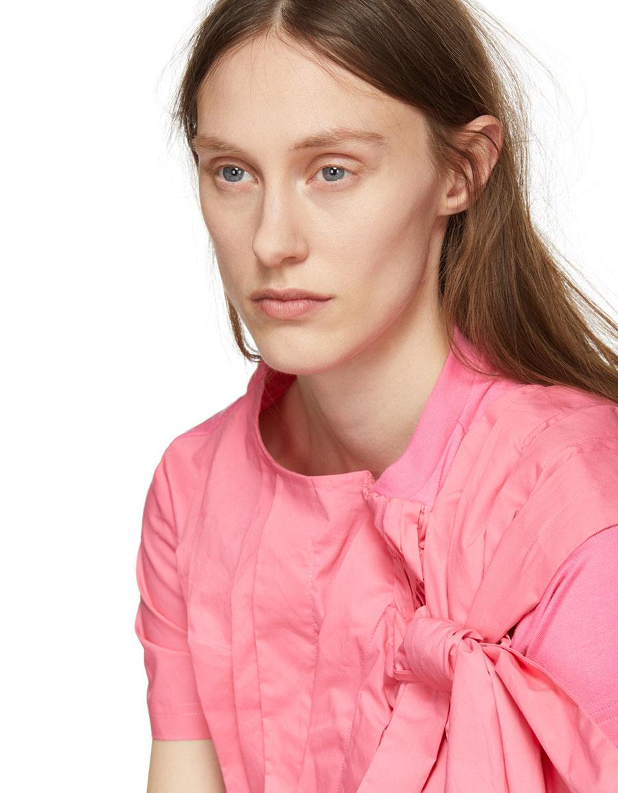 CHIKA KISADA Pink Bow Blouse