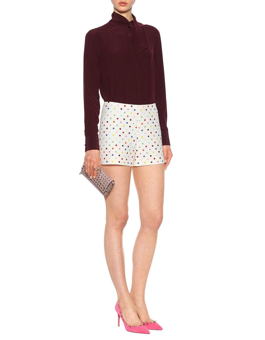 VALENTINO Polka dot shorts
