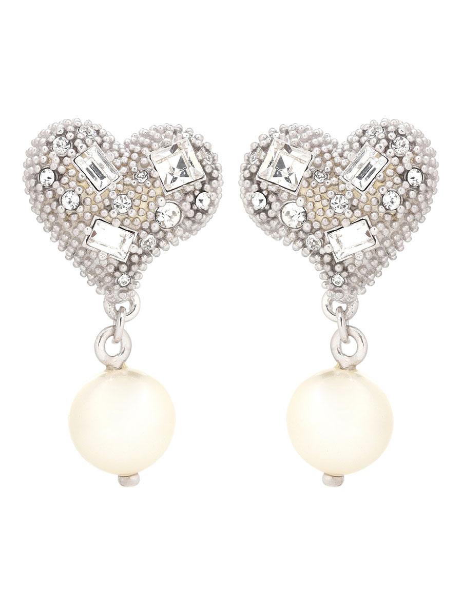 MIU MIU Crystal embellished earrings