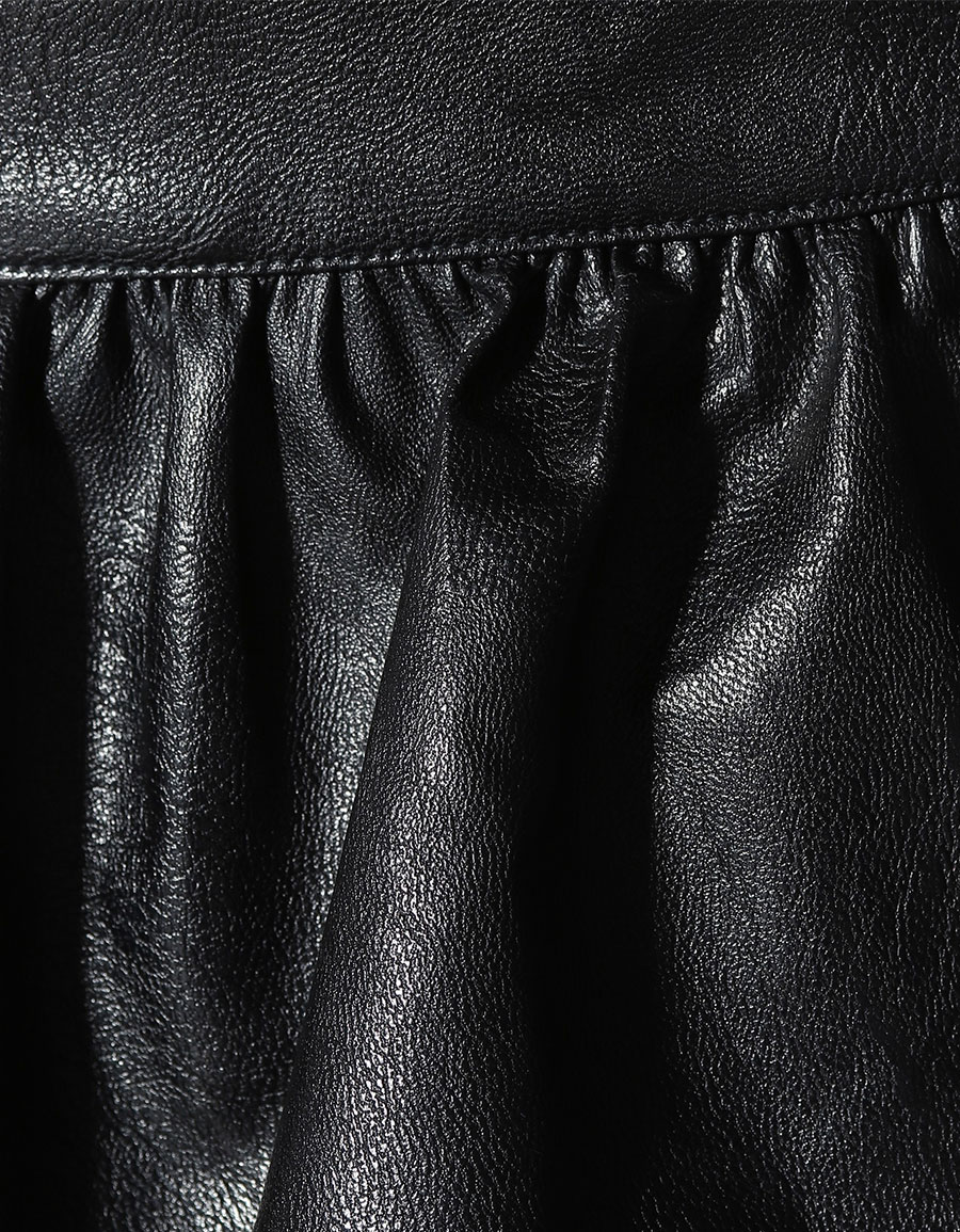 STELLA MCCARTNEY Anika faux leather skirt