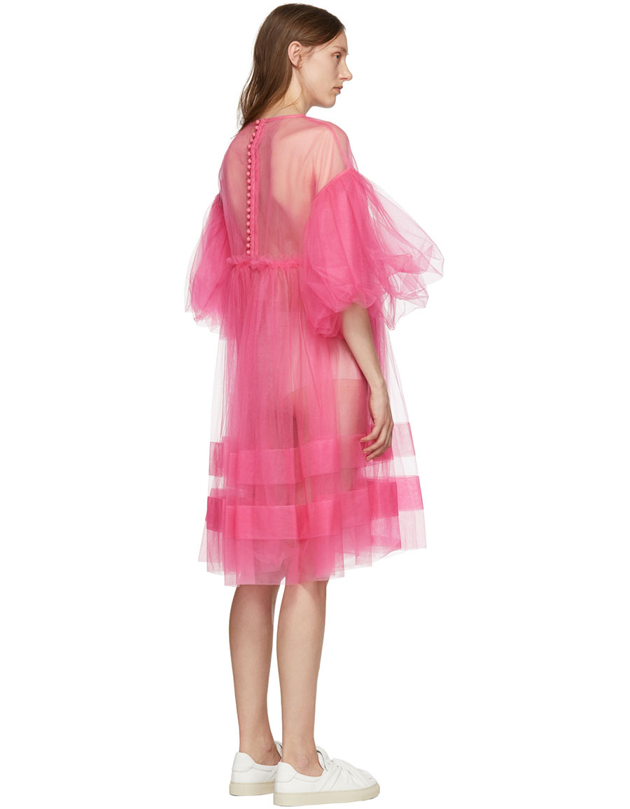 CHIKA KISADA Pink Tulle Voluminous Dress