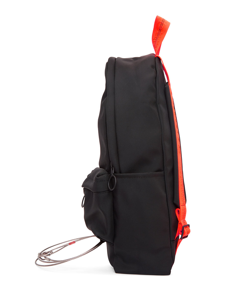 OFF WHITE Black Tape & Wire Backpack