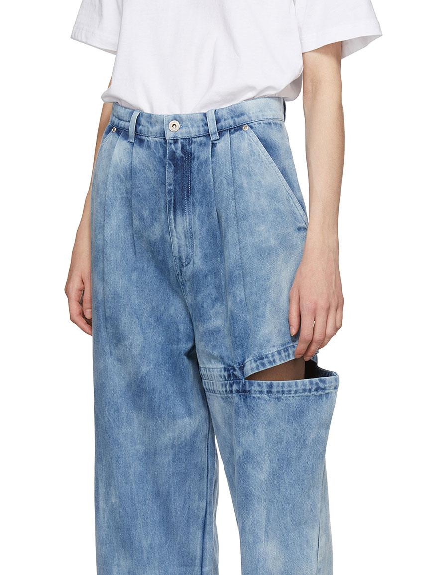PERKS AND MINI Indigo Perspective Bri Bri Wide Leg Jeans