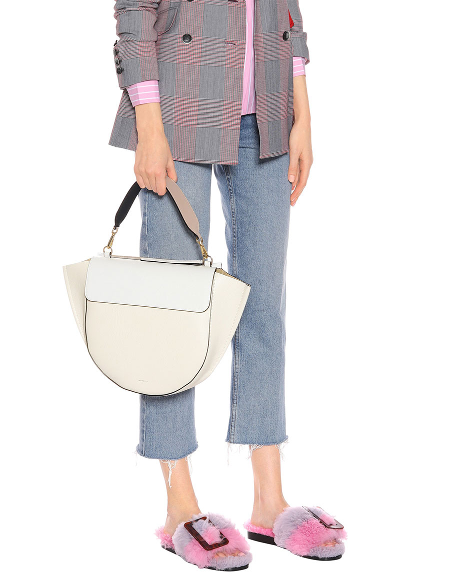WANDLER Hortensia Big leather shoulder bag