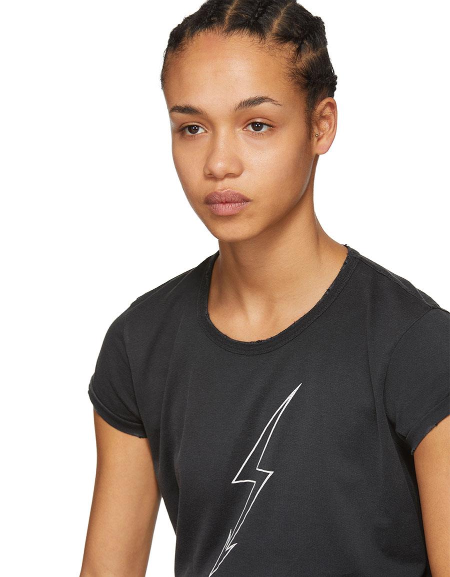 GIVENCHY Black Lighting 'World Tour' T Shirt