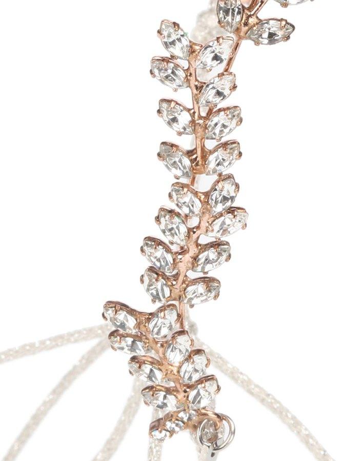 JENNIFER BEHR Delicate Vine crystal embellished headband