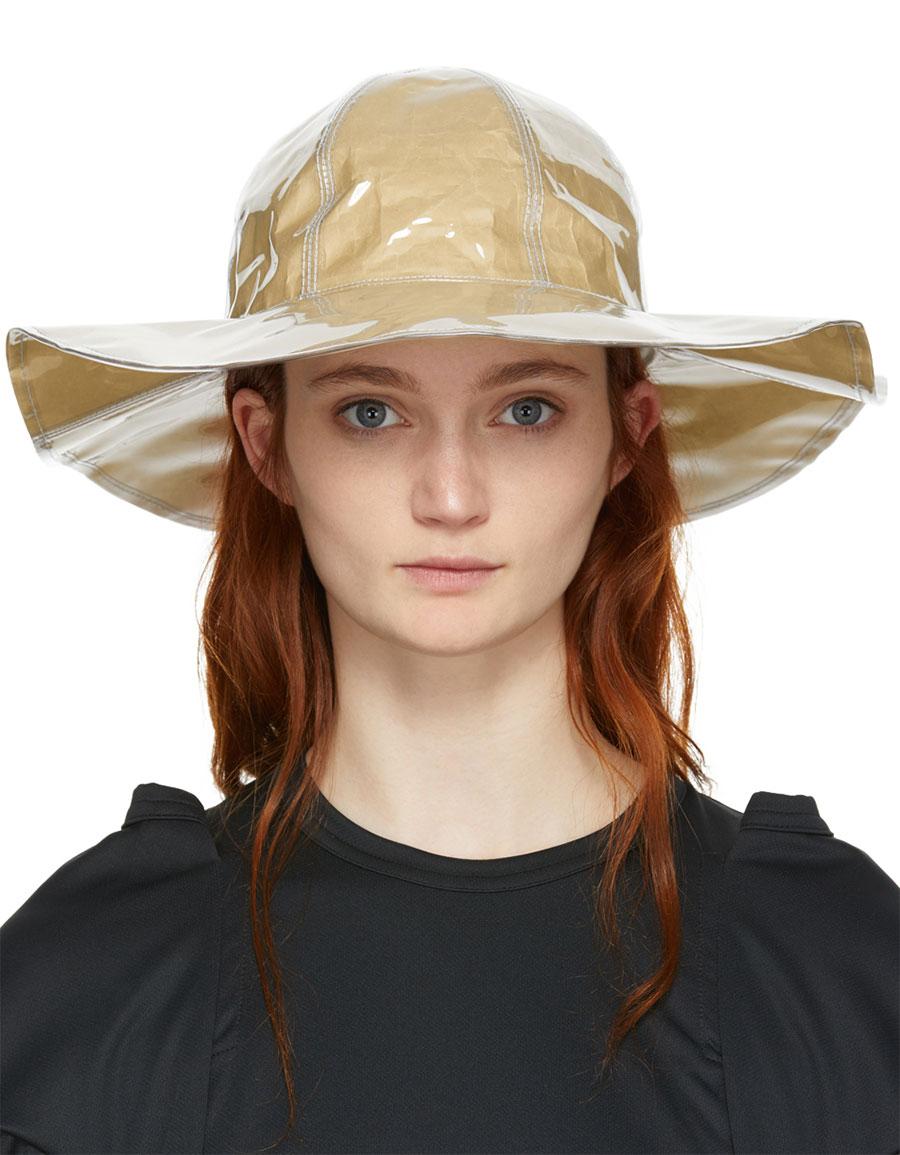 COMME DES GARÇONS Shirt Beige Shirt Bucket Hat · VERGLE b2d63ba68f3