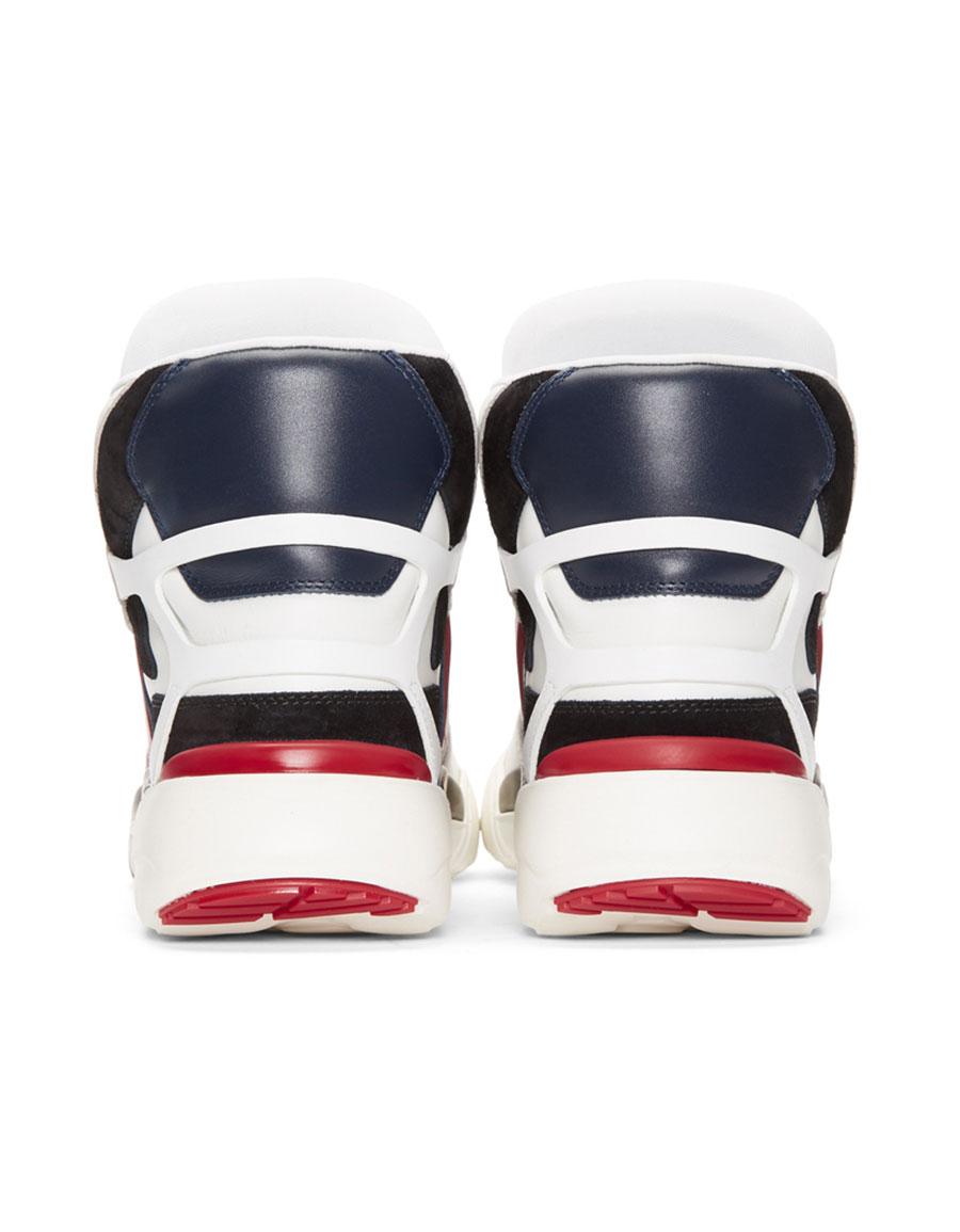 VALENTINO White Valentino Garavani Made One High Top Sneakers