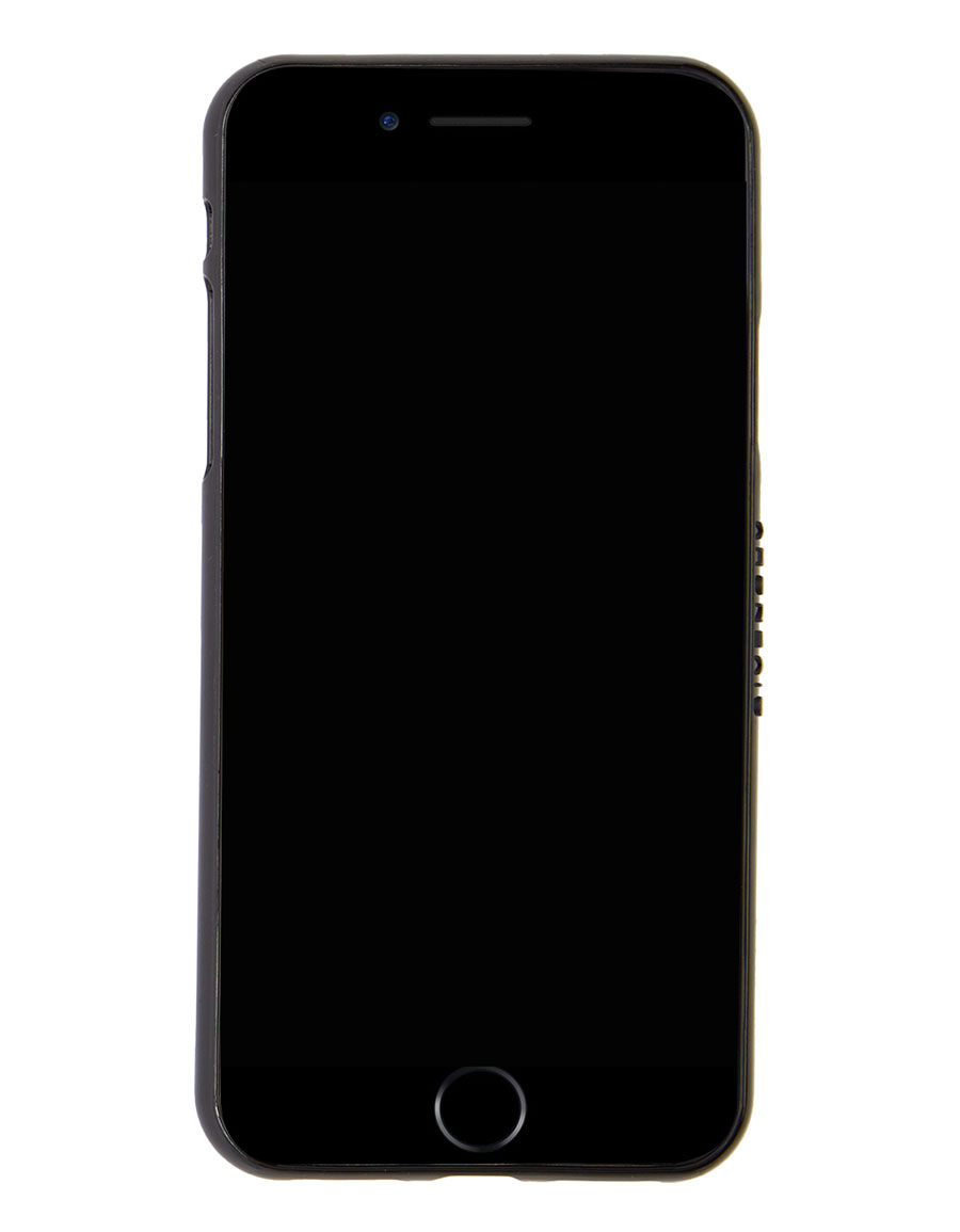 GIVENCHY Black All Over Logo iPhone X Case