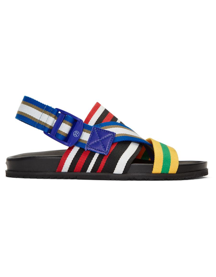 MAISON MARGIELA Multicolor Stretch Nylon Sandals