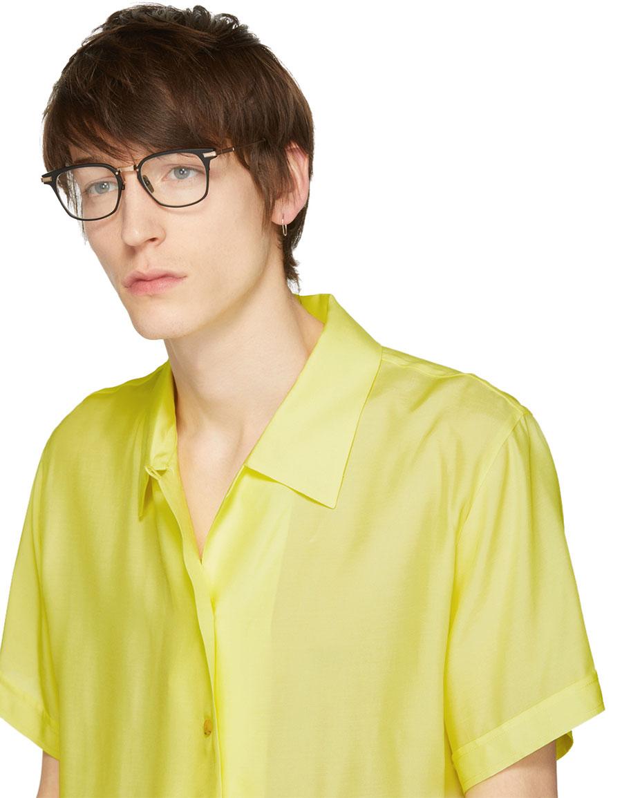 DITA Black & Gold Matte Union Glasses