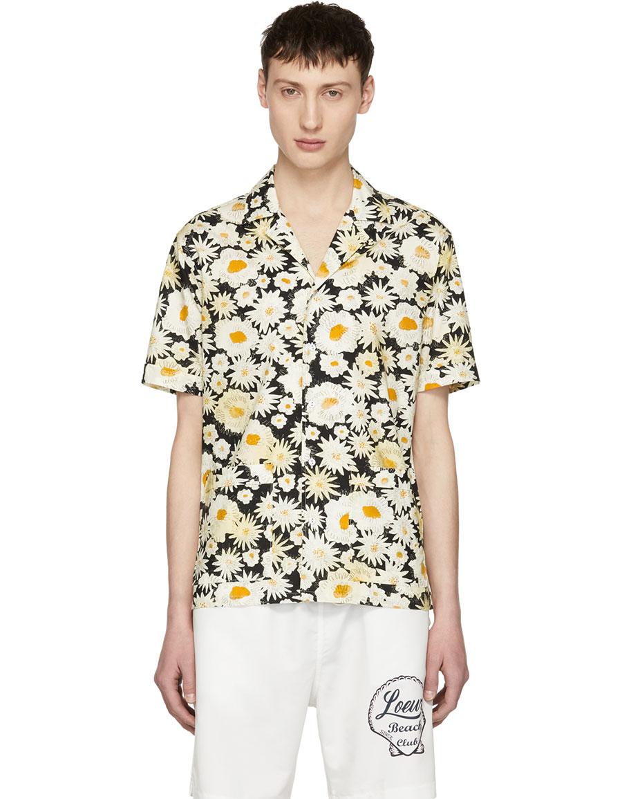 BURBERRY Black Short Sleeve Daisy Ska Jude Shirt