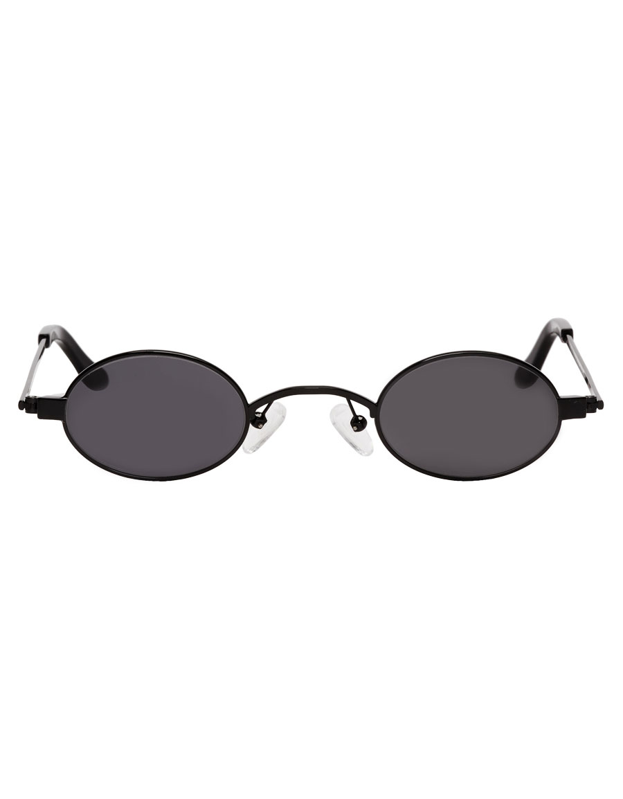 ROBERI & FRAUD Black Doris Sunglasses