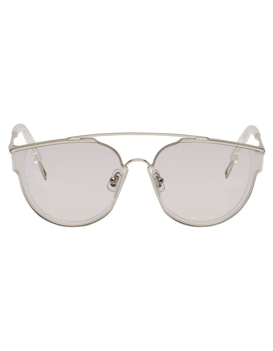GENTLE MONSTER Silver Loe Sunglasses