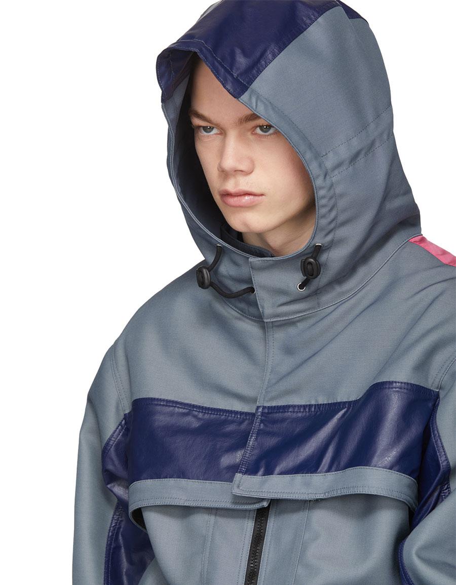 VALENTINO Blue Runway Jacket