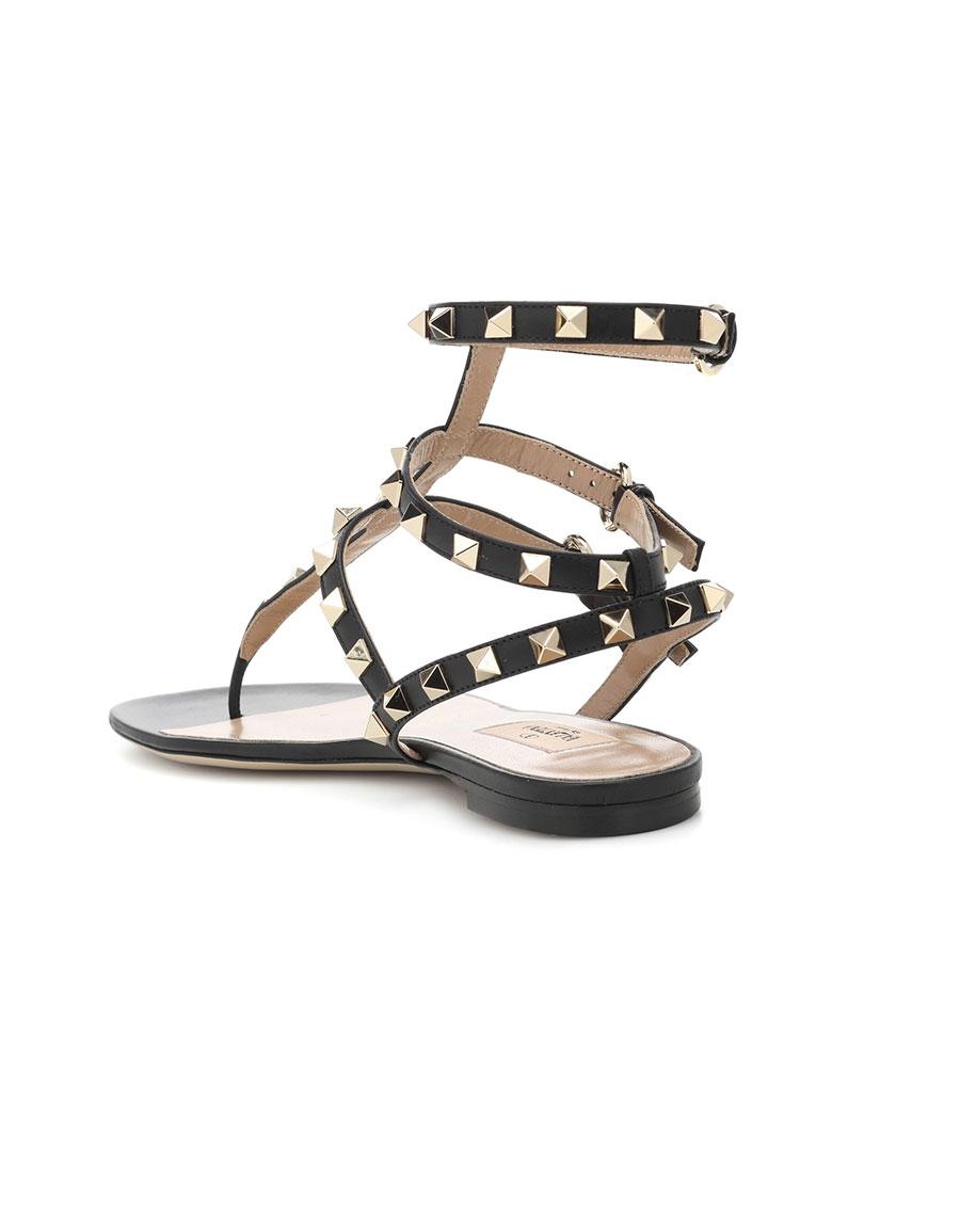VALENTINO Valentino Garavani Rockstud leather sandals