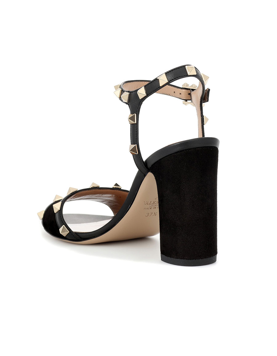 7152bd0f2e5b VALENTINO Valentino Garavani Rockstud suede sandals · VERGLE