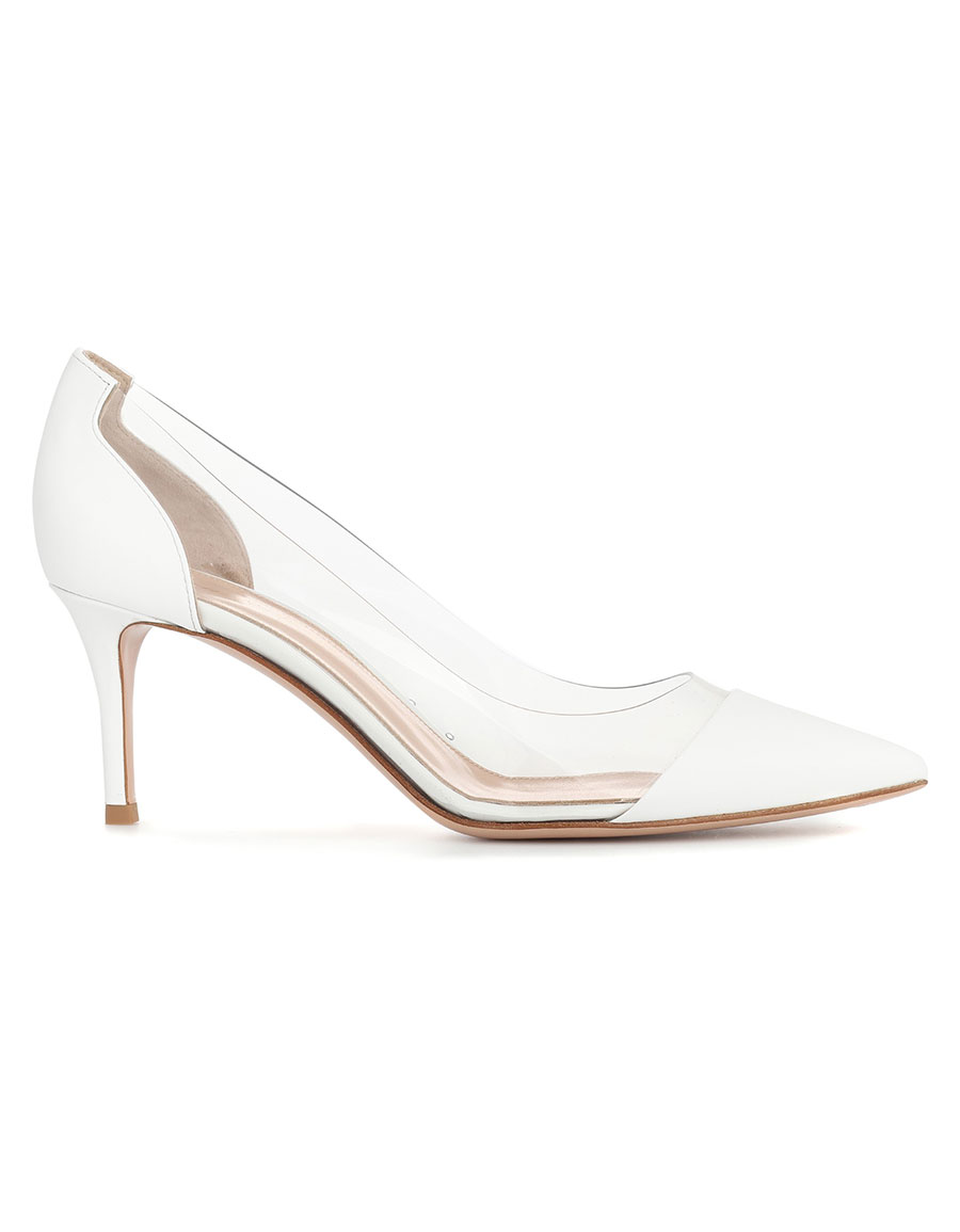 aebed719bde GIANVITO ROSSI Plexi 70 patent leather pumps · VERGLE