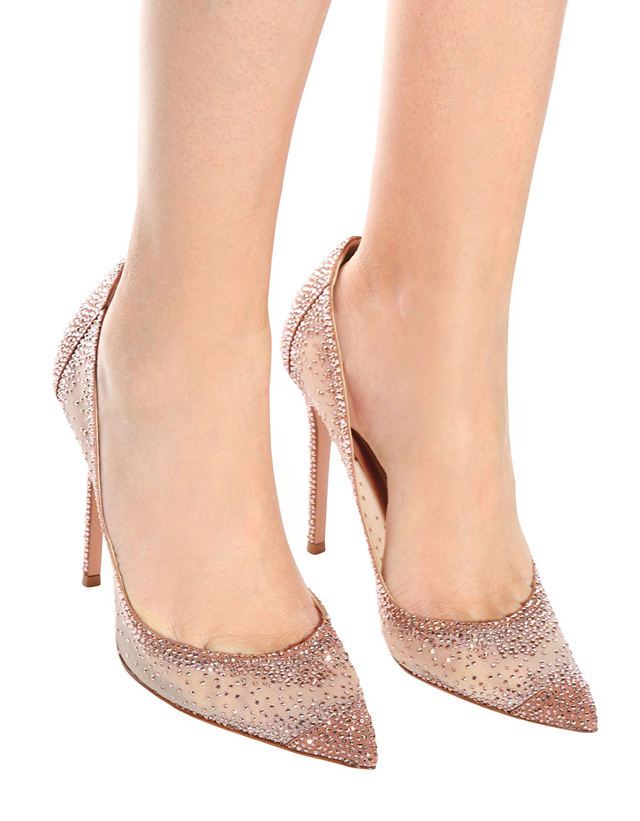 5a768d7f3fb3 GIANVITO ROSSI Rania crystal-embellished pumps · VERGLE