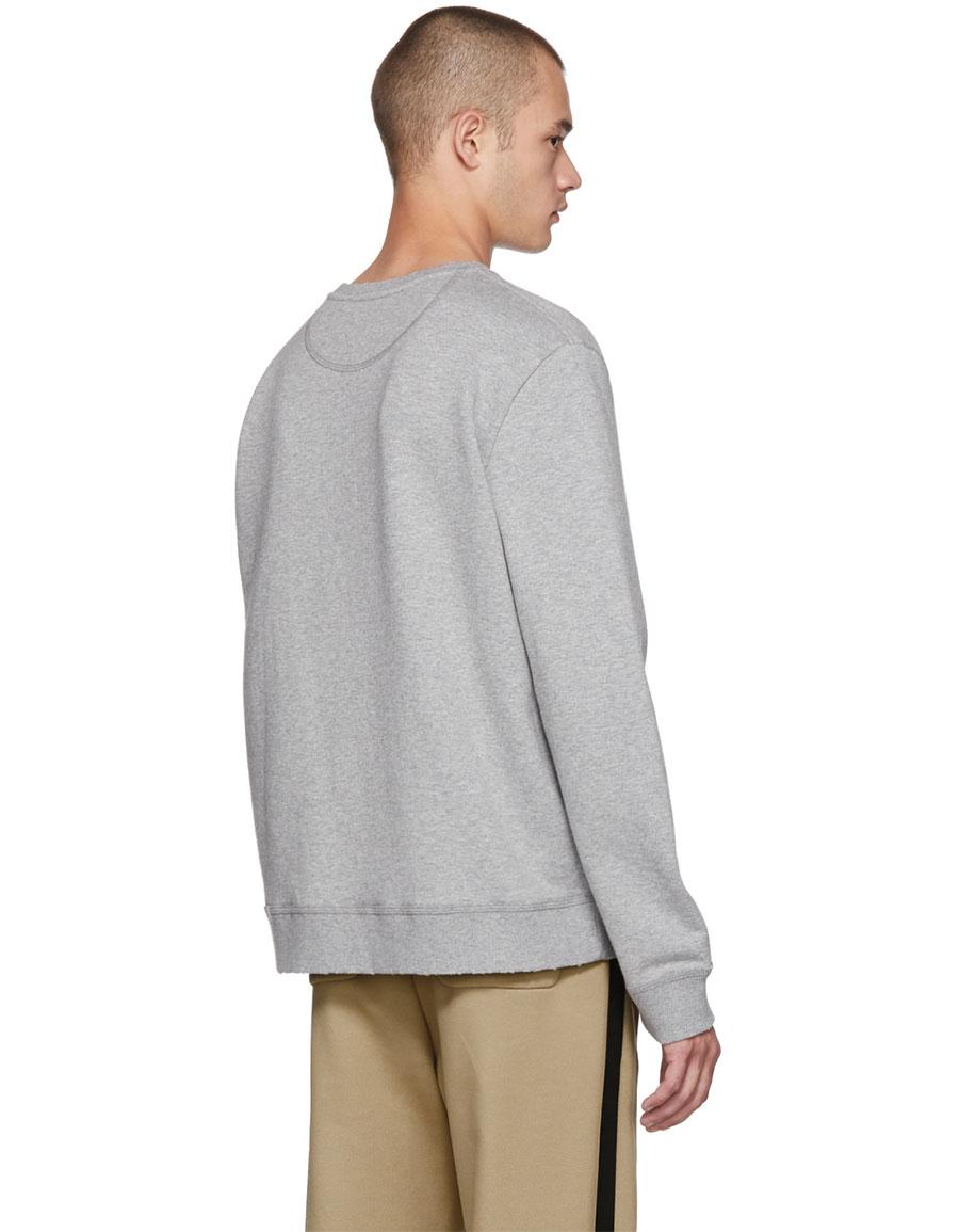 VALENTINO Grey Tokyo Logo Sweatshirt