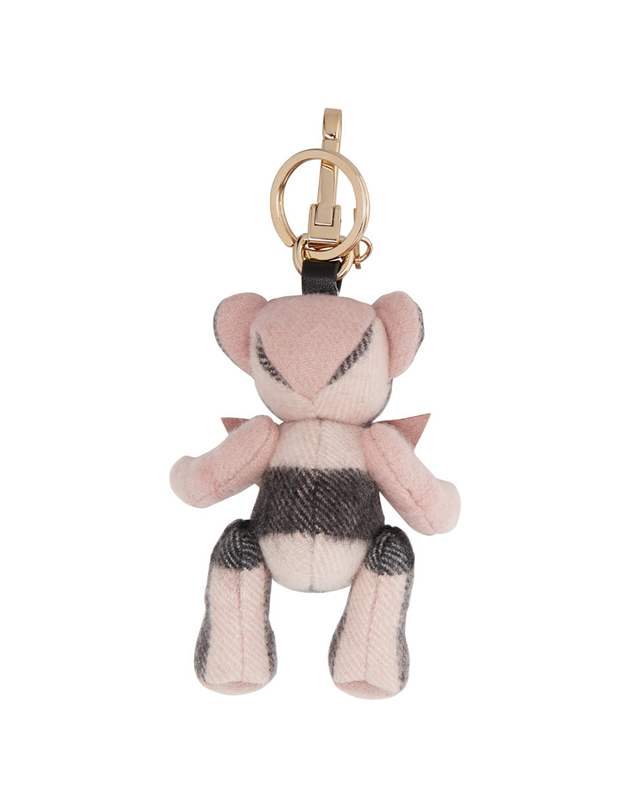 BURBERRY Pink Cashmere Thomas Keychain