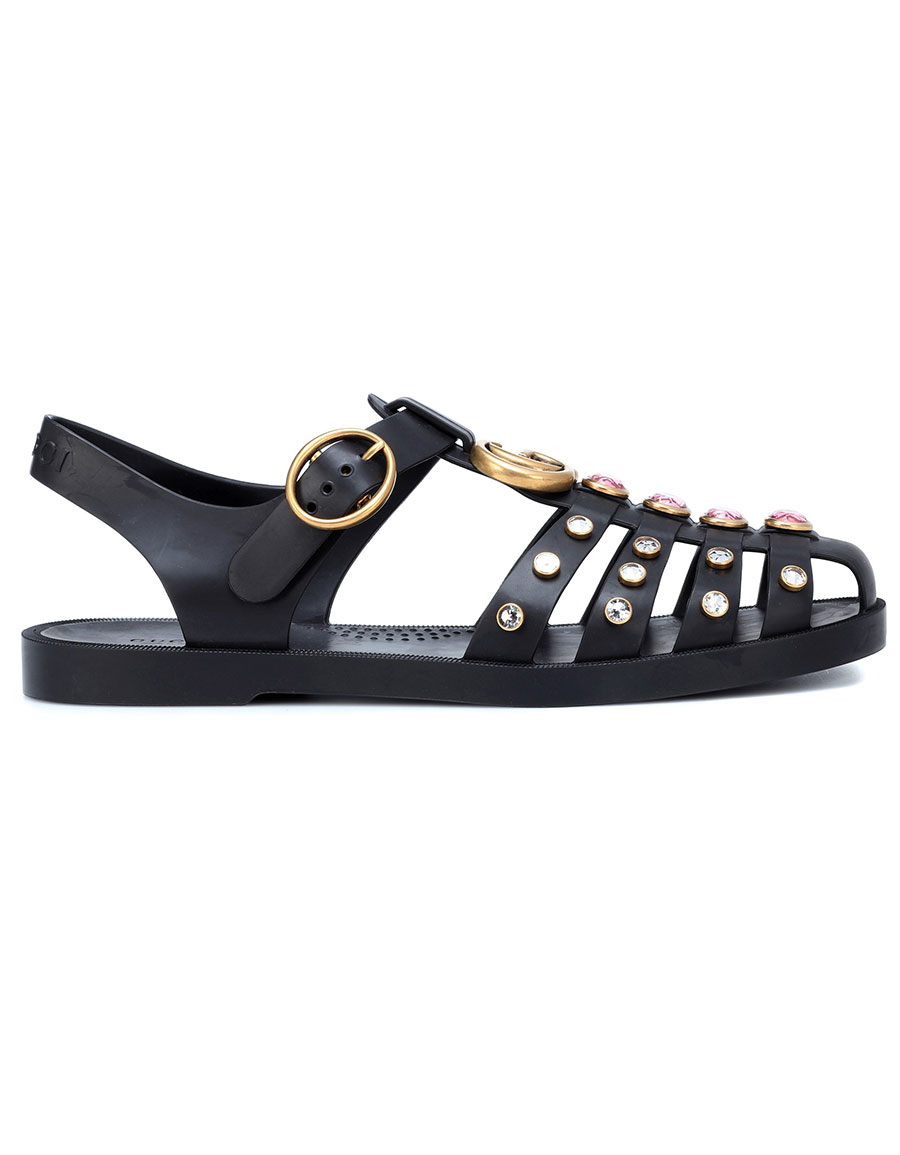 919e02a08c65 GUCCI Embellished sandals · VERGLE