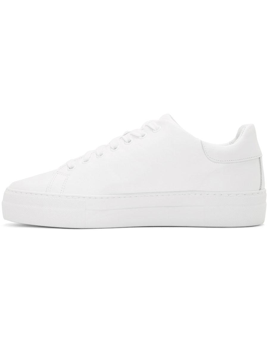 MOSCHINO White Logo Sneaker