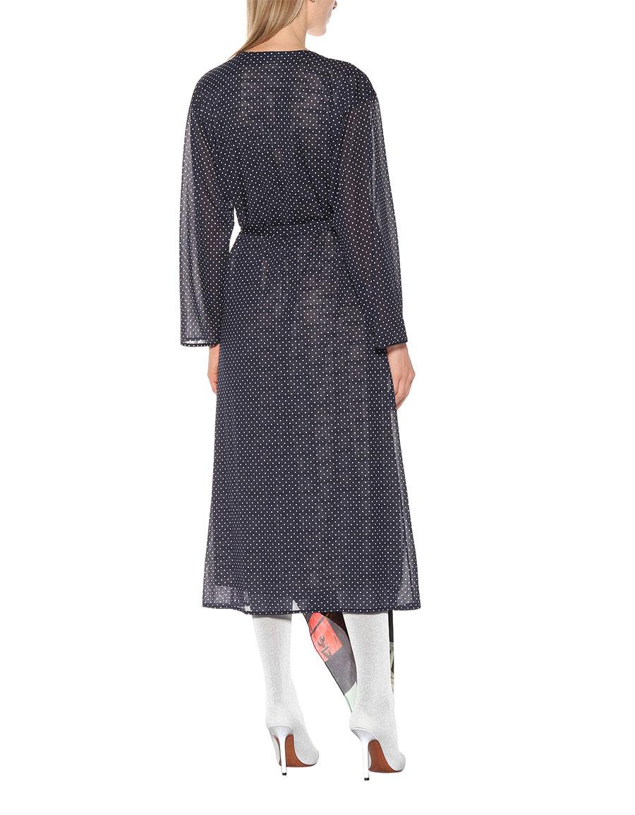 VETEMENTS Mixed print midi dress