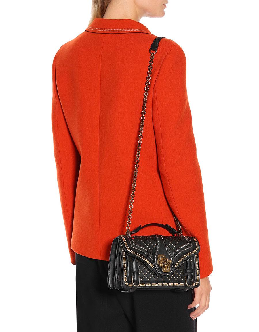 BOTTEGA VENETA City Knot leather shoulder bag