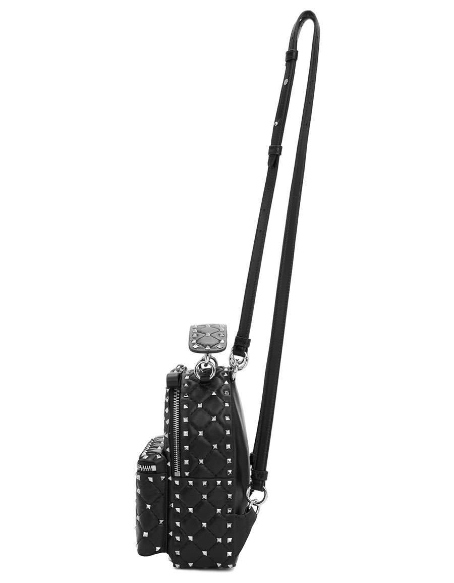VALENTINO Black Valentino Garavani Spike Backpack