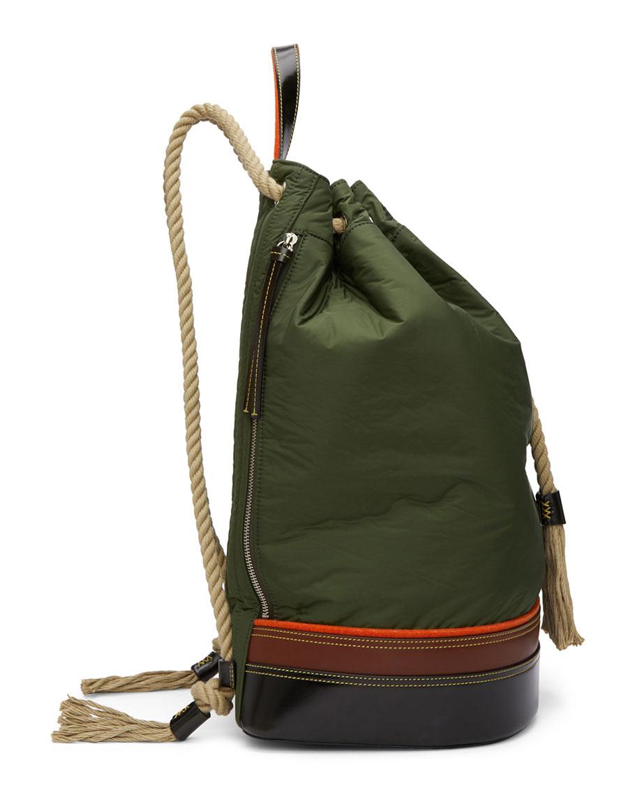 JW ANDERSON Khaki Sailor Backpack
