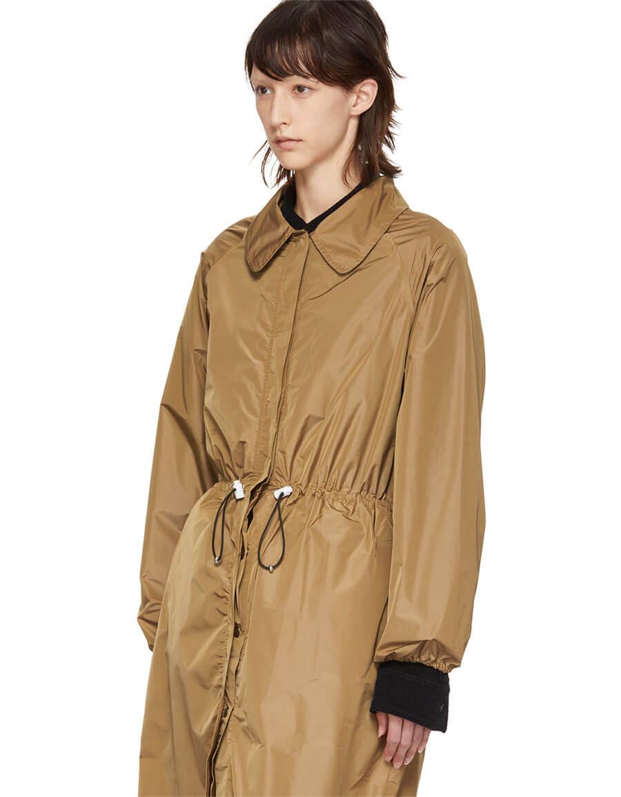 MARKOO SSENSE Exclusive Brown Shirt Dress
