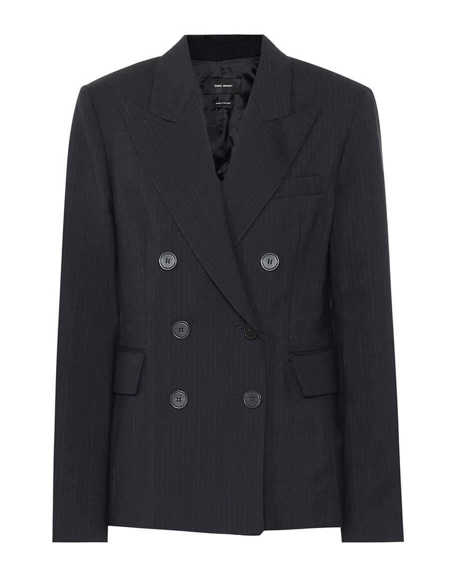 ISABEL MARANT Helsey stretch wool blazer