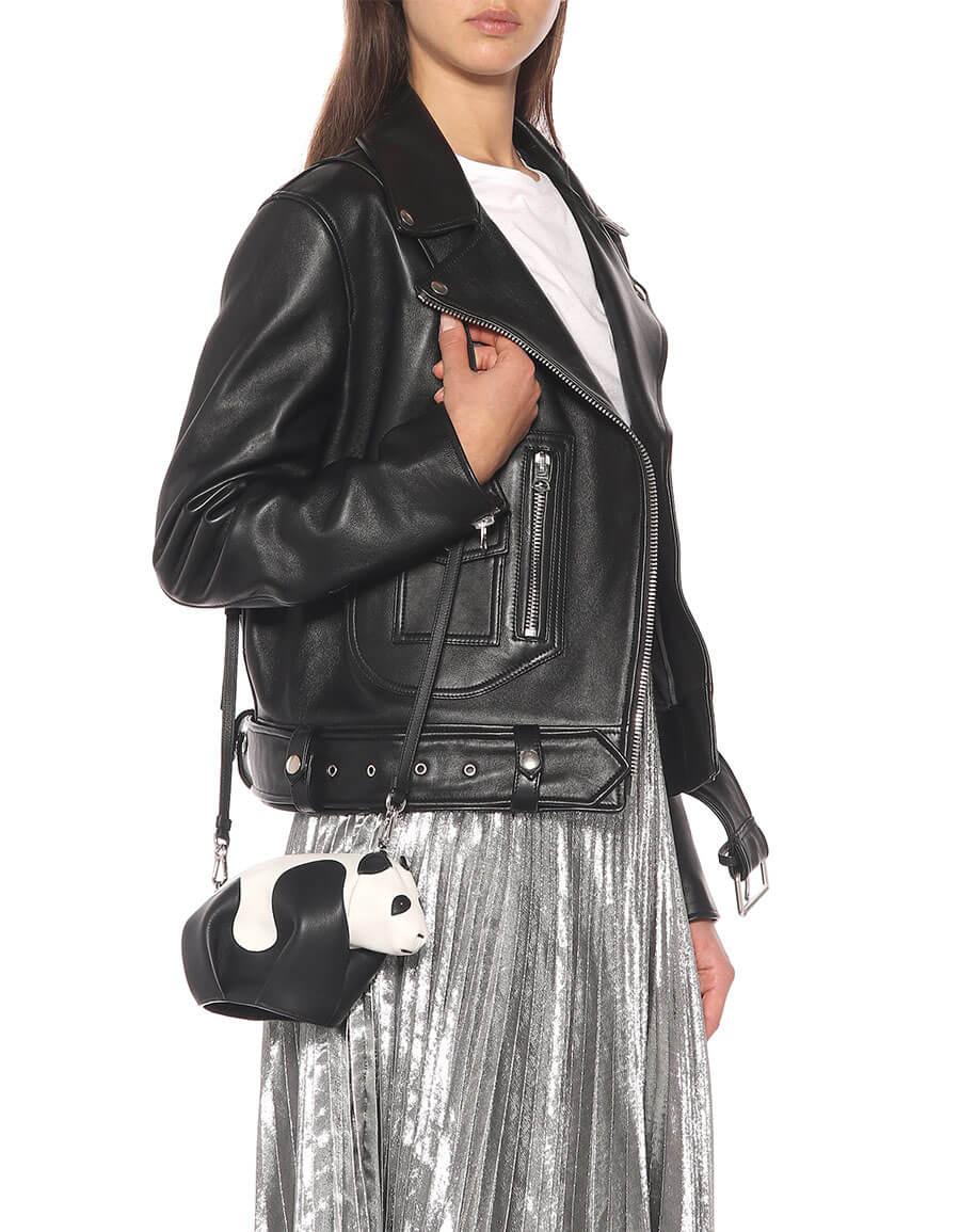 LOEWE Panda Mini leather shoulder bag