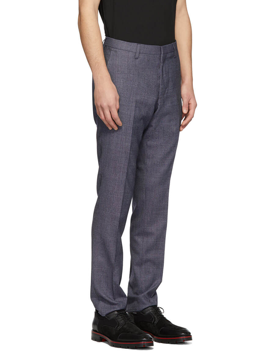TIGER OF SWEDEN Blue Talthe Trousers