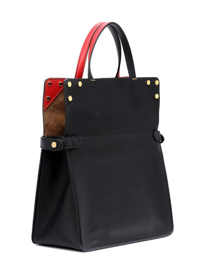 FENDI Small Flip leather shoulder bag