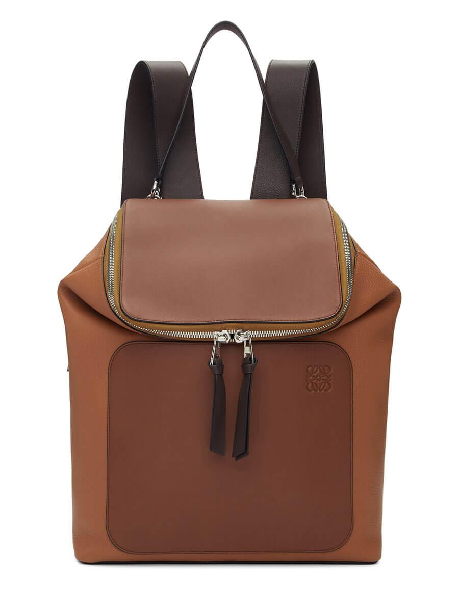 LOEWE Brown Goya Backpack