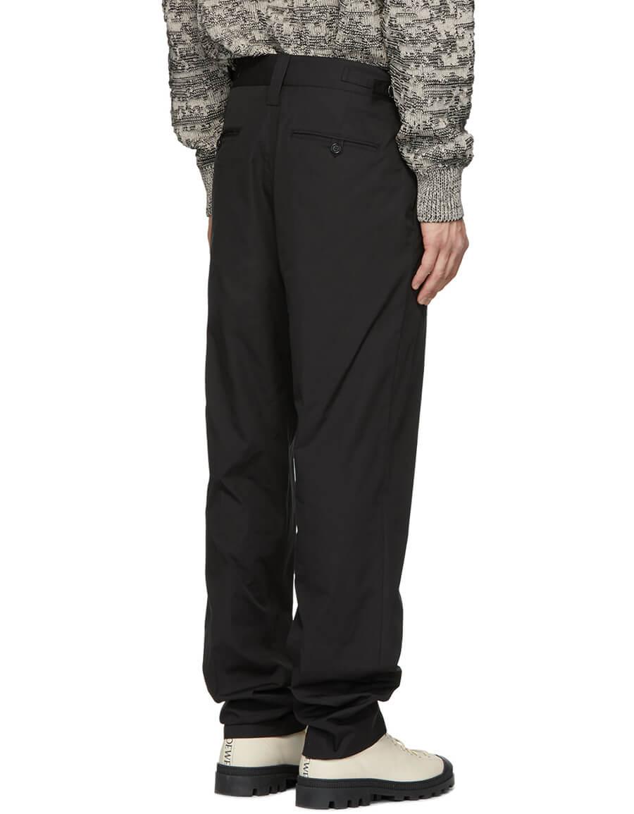 STELLA MCCARTNEY Black Pleated Trousers