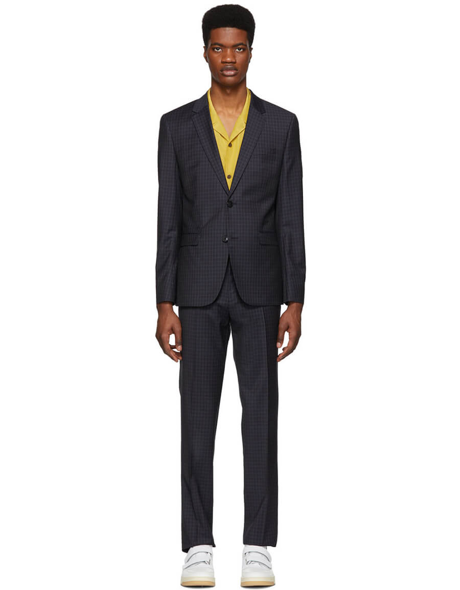 HUGO Navy Astian & Hets 184 Suit